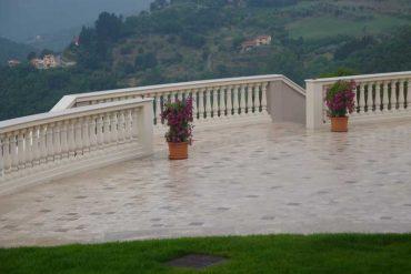 La balaustra - balaustrade - GH Lazzerini, Italy