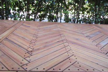 pedana in legno per esterno - wooden outdoor platform - Garden House Lazzerini, san vincenzo