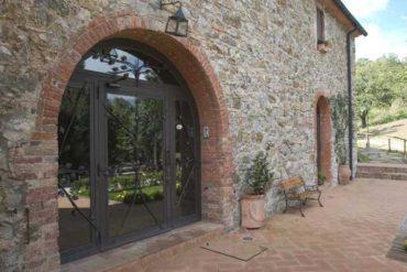 porte d'ingersso - entrance door - gh lazzerini