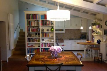 cucina, sala e libreria - kitchens, living room and library - gh lazzerini, italy
