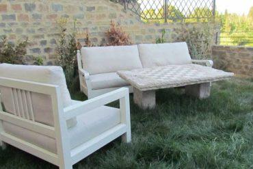 un grazioso angolo di giardino - garden furniture - GH Lazzerini