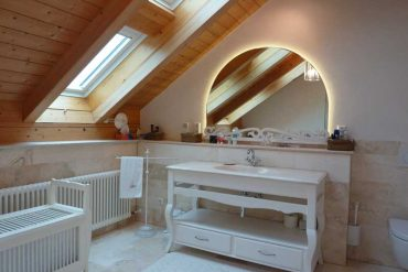 un bagno e la sua luce - bathroom furniture - gh lazzerini, italy