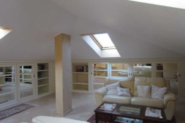 how to furnish your attic - arredare la mansarda - gh lazzerini, tuscany