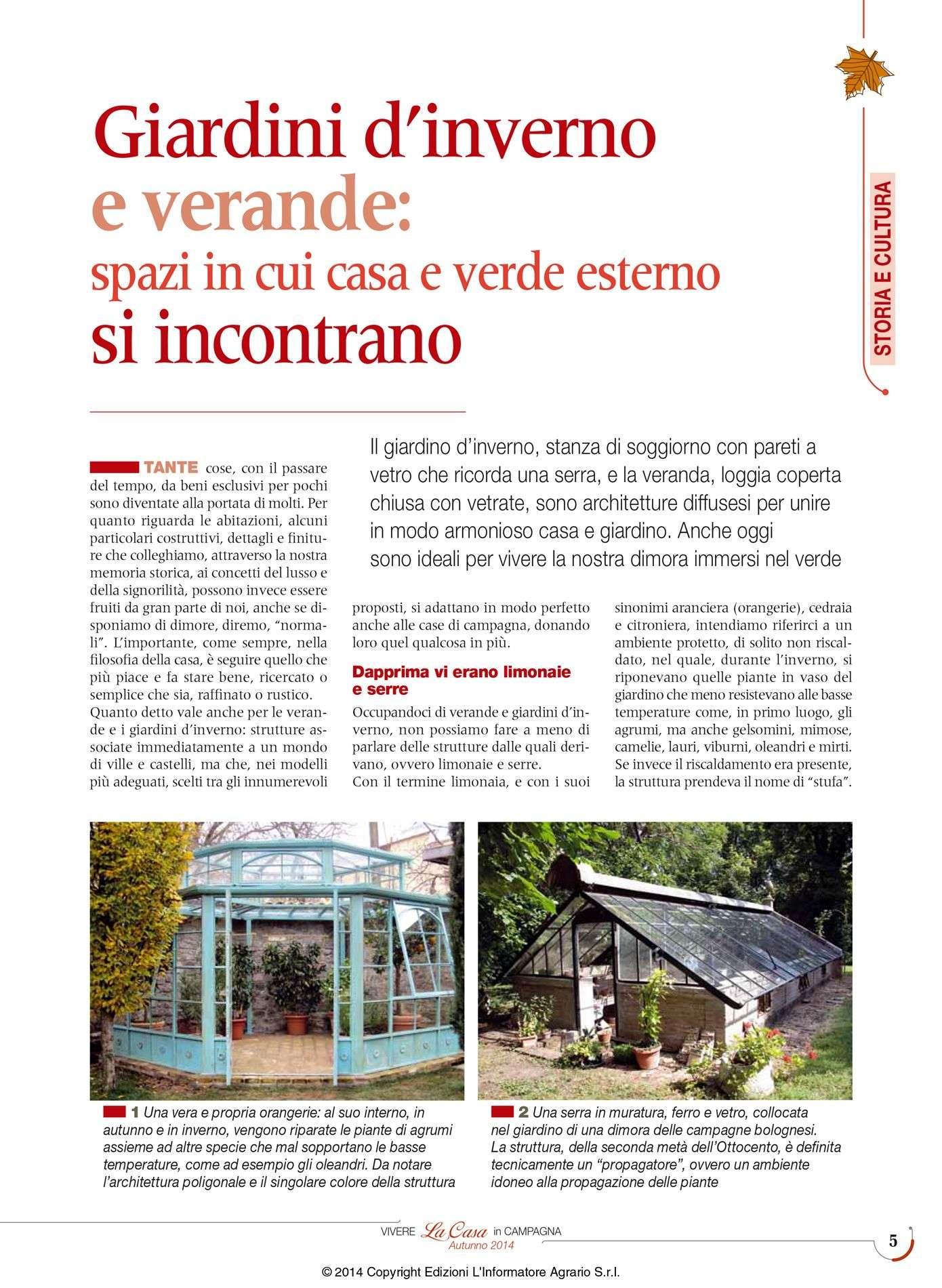 VERANDAS AND ORANGERIE Archivi - Garden House Lazzerini