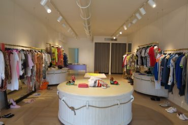 new opening via roma 1 , fashion boutique