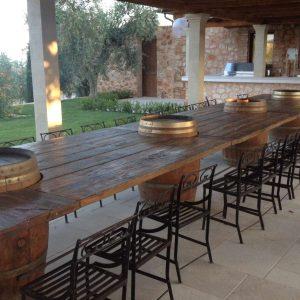 Il legno al servizio del tuo stile. I tavoli in legno Garden House Lazzerini, Outdoor Made in Italy