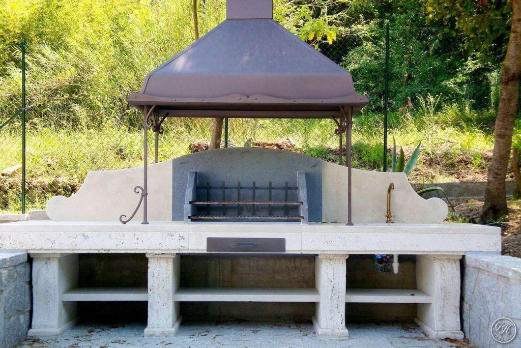 Cucine Da Esterno Con Barbecue : I barbecue professionali per divertirsi in sicurezza gh lazzerini