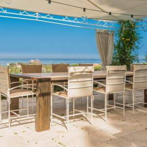 Tavoli in pietra naturale - Garden House Lazzerini, Made in Italy