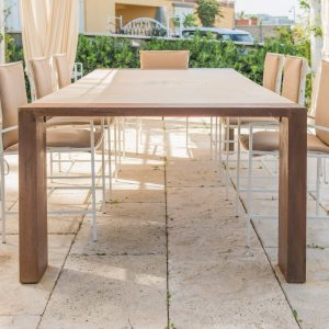 Tavolo in pietra naturale. Outdoor - Garden House Lazzerini, Made in Italy