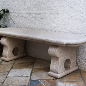 PANCHINE IN PIETRA NATURALE - GARDEN HOUSE LAZZERINI