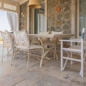 Tavolo in pietra naturale - Garden House Lazzerini, Made in Italy