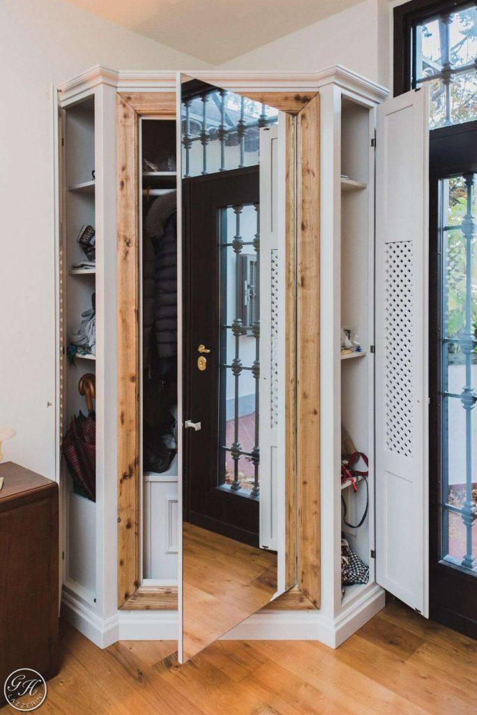 Armadi cabine guardaroba garden house lazzerini for Cabine vecchio stile