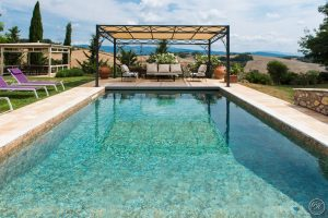 PISCINE IN MATERIALE NATURALE - INFINITY POOLS IN NATURAL MATERIALS - GARDEN HOUSE LAZZERINI