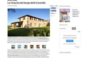 LA RINASCITA DEL BORGO DELLE CANNELLE - gh lazzerini