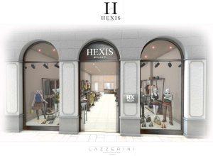 Boutique di Praga del marchio Hexis milano - progetto e realizzazione Garden House Lazzerini