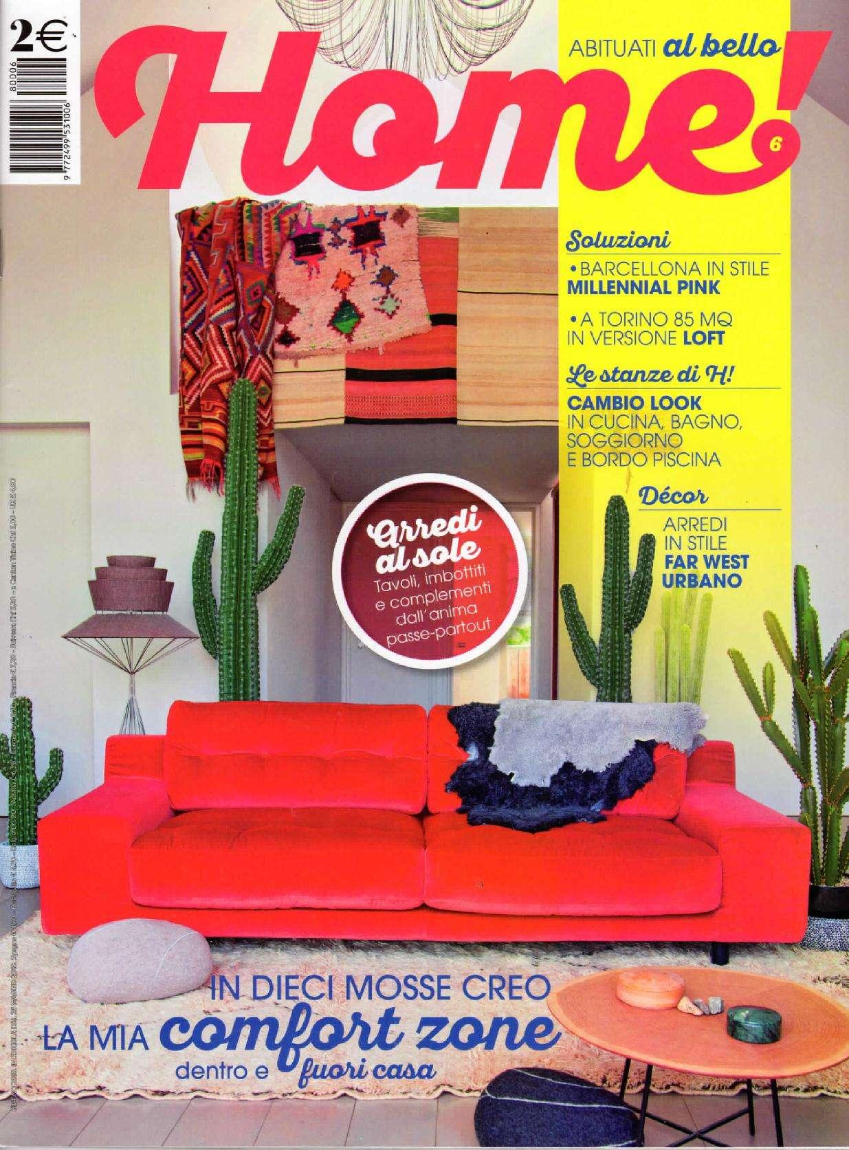 copertina HOME! - Giugno 2018